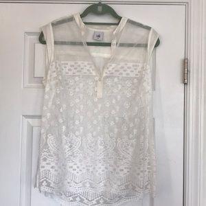 Cabi Lace Tunic